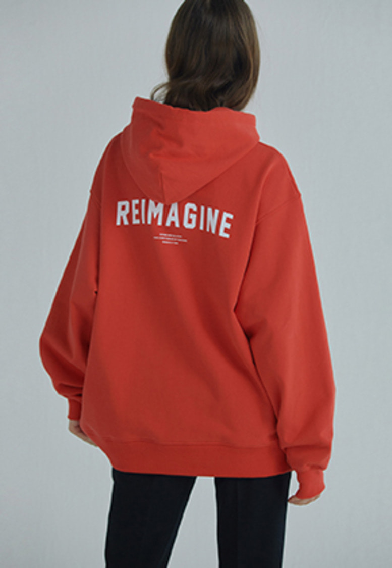 YIGNIL이그닐 Red 'REIMAGINE' EDITION Hoodie (W)