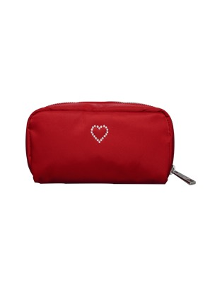 Heymisstata헤이미스타타 crystal pouch (red)
