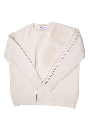 MUTEMENT뮤트먼트 ivory DV wool knit