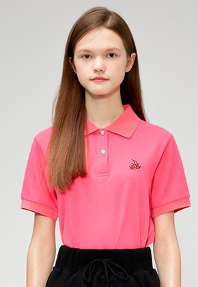 KIRSH키르시 CHERRY PK T-SHIRTS IS [PINK]