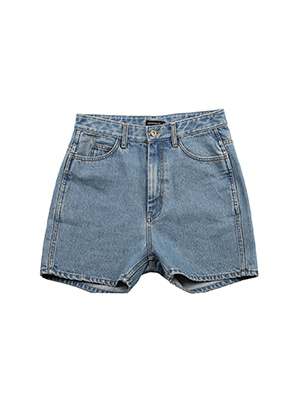 AJO BY AJO FINK LABEL Symbol Denim Shorts [Blue]
