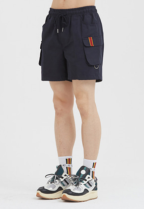 Romantic Crown로맨틱크라운 E.D.V Cargo Short Pants_Navy