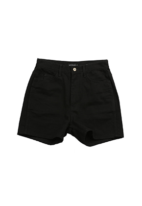 AJO BY AJO FINK LABEL Symbol Denim Shorts [Black]