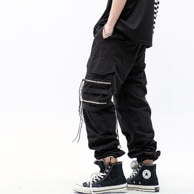 Maedaryuto마에다류토 4 ZIPPER STRING JOGGER PANTS