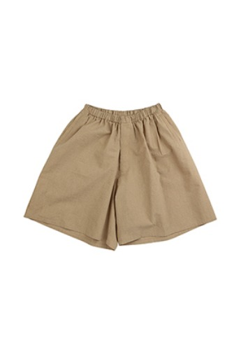 AJO BY AJO아조바이아조 Stripe Seersucker Shorts [Camel]