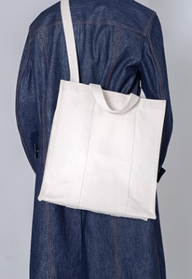 HAH ARCHIVE하 아카이브 3WAY COATED HEAVY CANVAS BAG