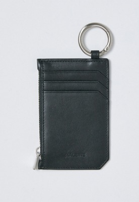 Haleine알렌느 BLACK leather card holder(IA004)