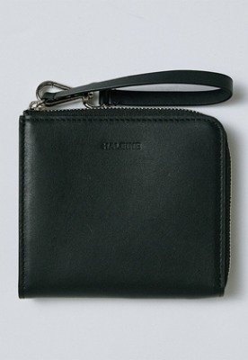 Haleine알렌느 BLACK leather holder wallet(IA006)