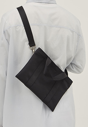 HAH ARCHIVE하 아카이브 4WAY XS HIGH DENSITY TWILL NYLON BAG