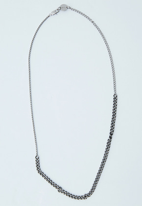 Haleine알렌느 SILVER&BLACK necklaces (KA006)