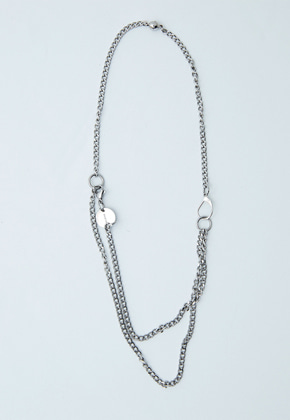 Haleine알렌느 SILVER layered necklaces (KA007)