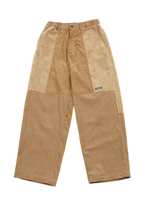 AJO BY AJO아조바이아조 Tri Mixed Corduroy Pants [Camel]