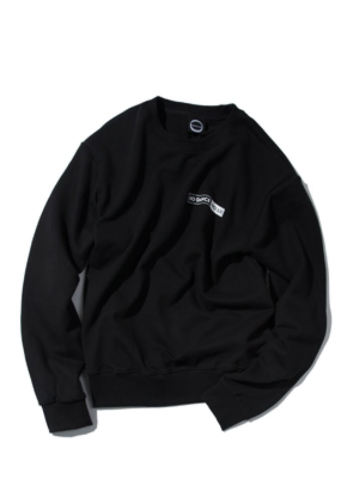 Kruchi크루치 NO DANCE NO LIFE CREWNECK - (Black)