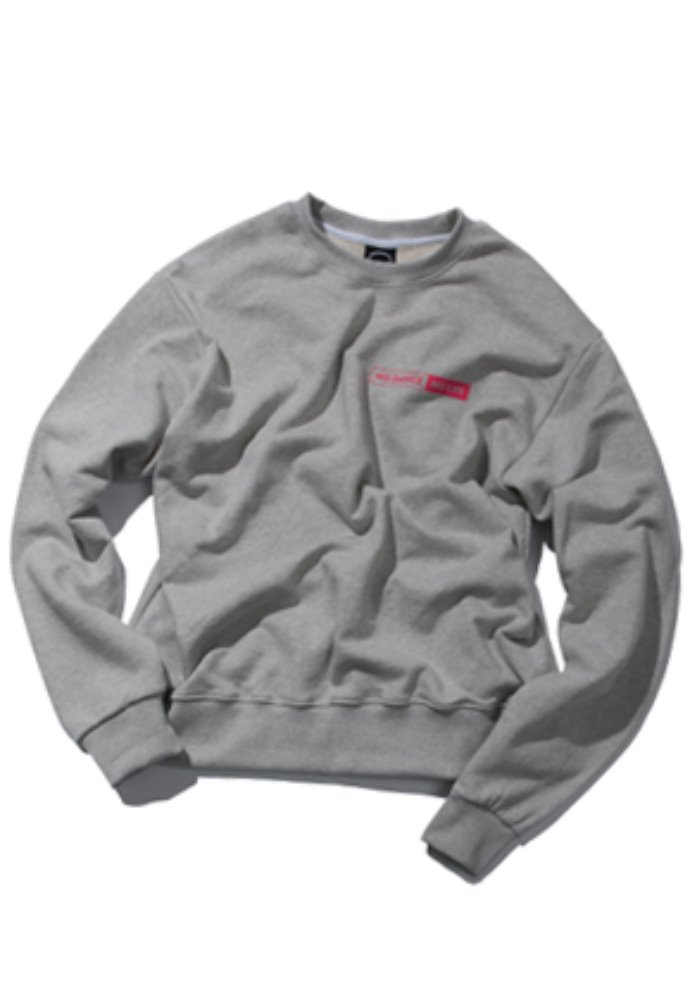 Kruchi크루치 NO DANCE NO LIFE CREWNECK - (Gray)