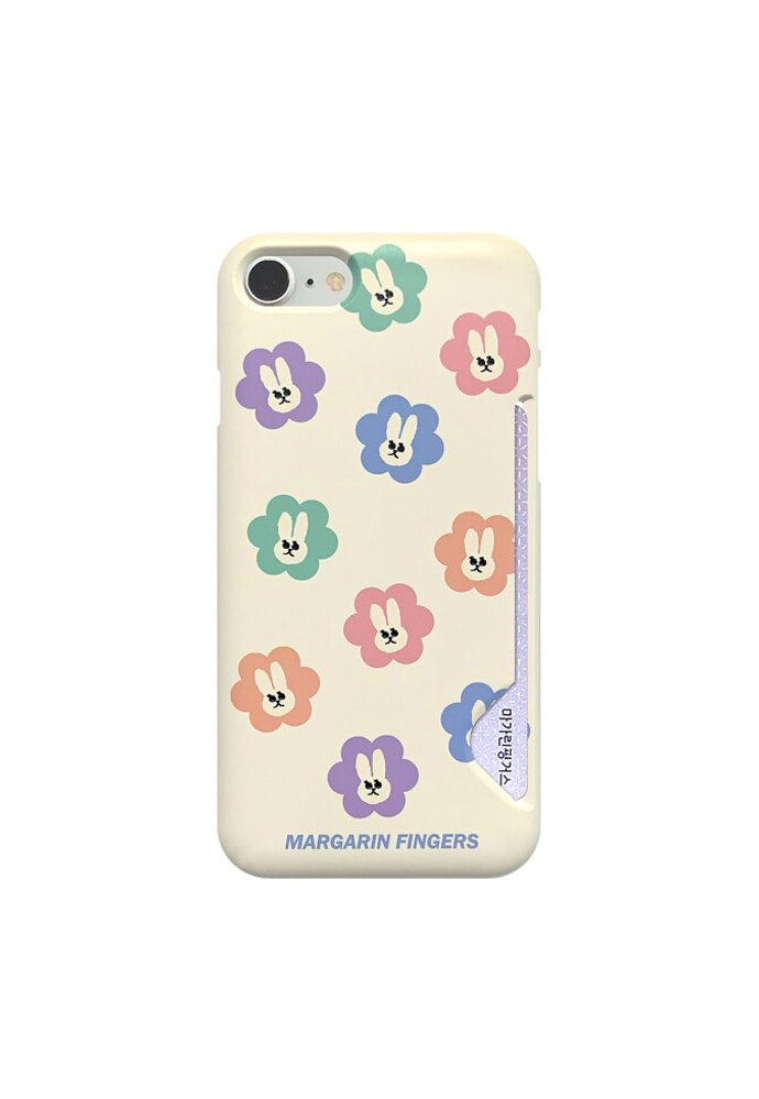 Margarin Fingers마가린핑거스 PASTEL RABBIT CASE