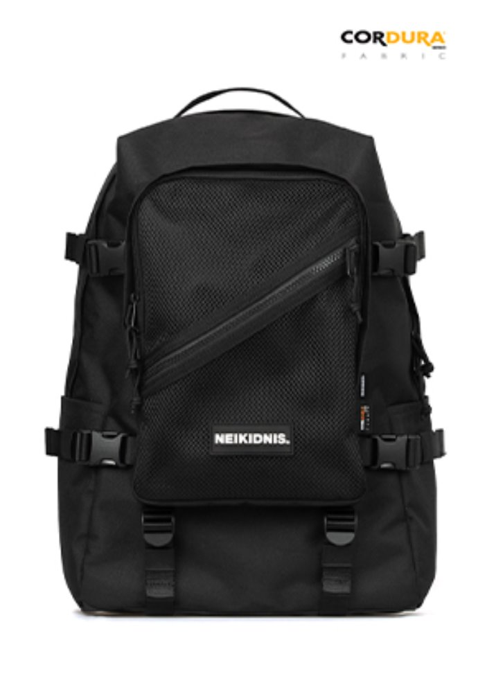 NEIKIDNIS네이키드니스 [사은품 증정]DIVISION BACKPACK / BLACK