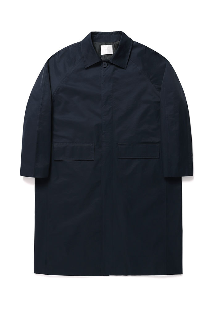 ENOU에노우 BALMACAAN COAT[NAVY]
