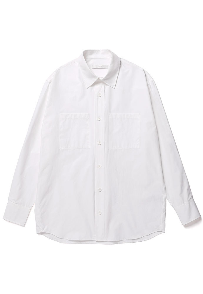 ENOU에노우 OVERSIZED SHIRT[WHITE]