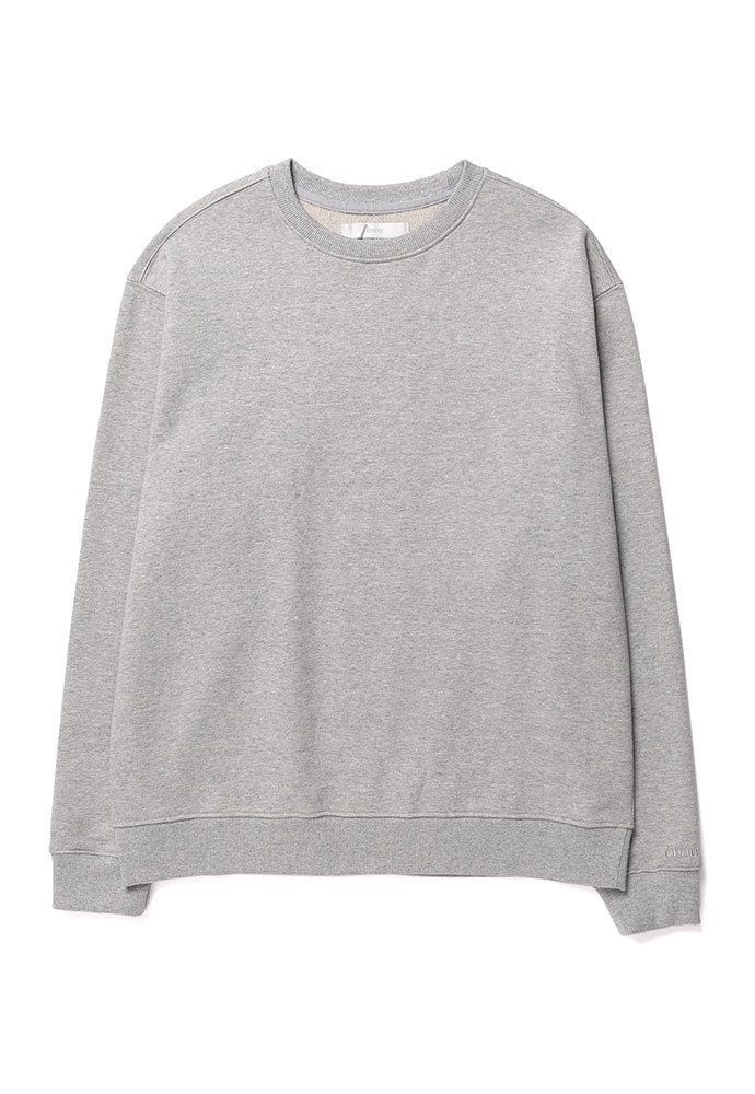 ENOU에노우 SOFT COTTON SWEATSHIRT[GREY]