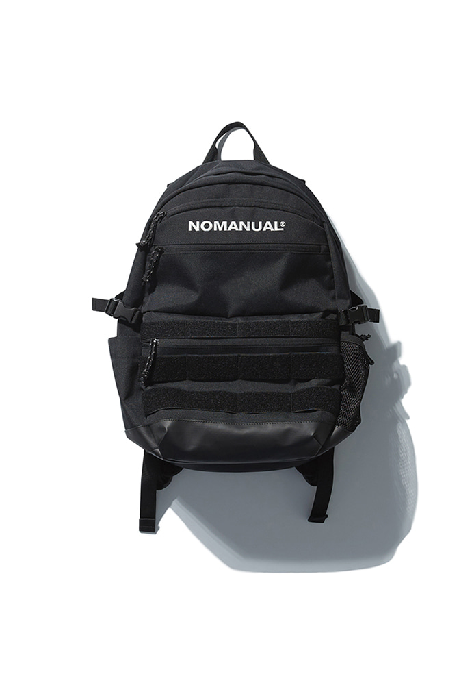 NOMANUAL노메뉴얼 (3월31일 예약배송)NM UTILITY BACKPACK - BLACK