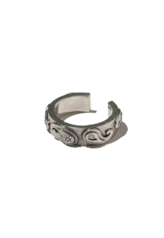 Kruchi크루치 Paisley tension ring (silver)