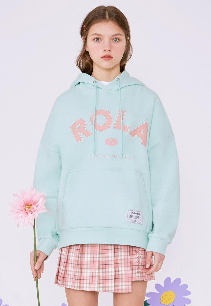 ROLAROLA로라로라 (HD-20101) ROLA SIGNATURE HOOD T-SHIRT MINT
