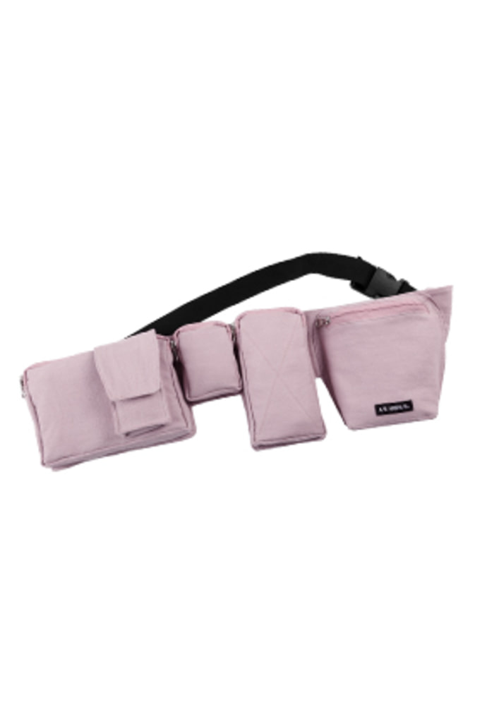 AJO BY AJO아조바이아조 Fisherman Waist Bag [Lavender]