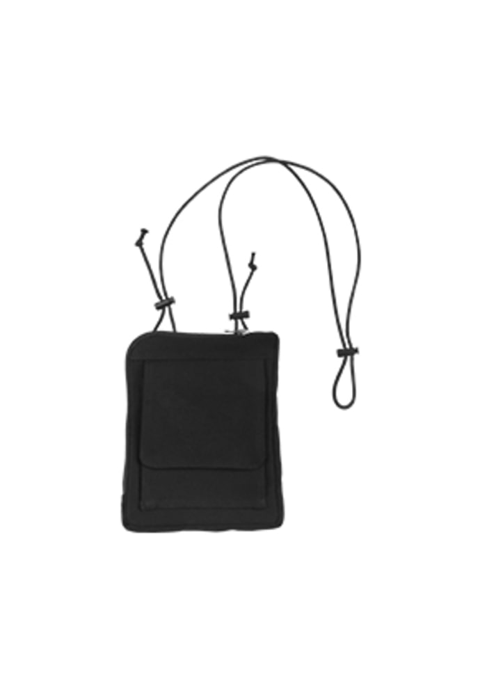 AJO BY AJO아조바이아조 Cotton Mini Bag [Black]