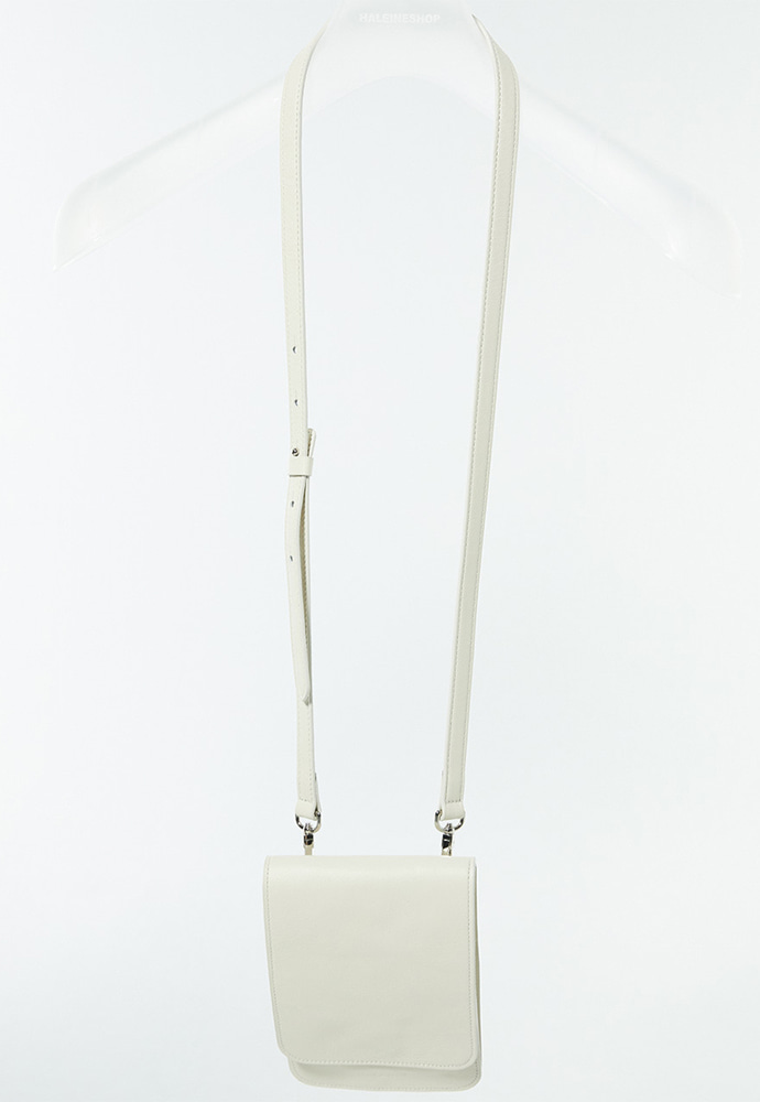 Haleine알렌느 CREAM leather strap bag(LA001)
