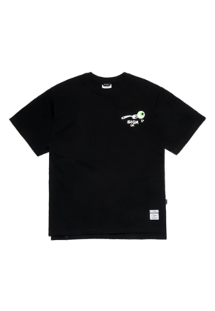 Stigma스티그마 FORK OVERSIZED T-SHIRTS BLACK