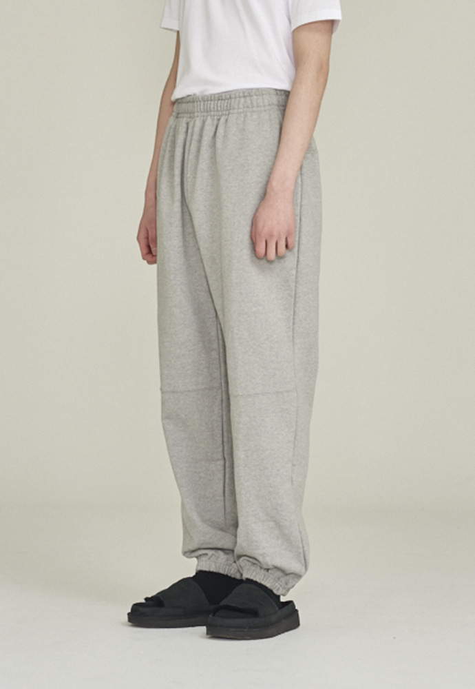 LLUD러드 LLUD sweat pants melange grey