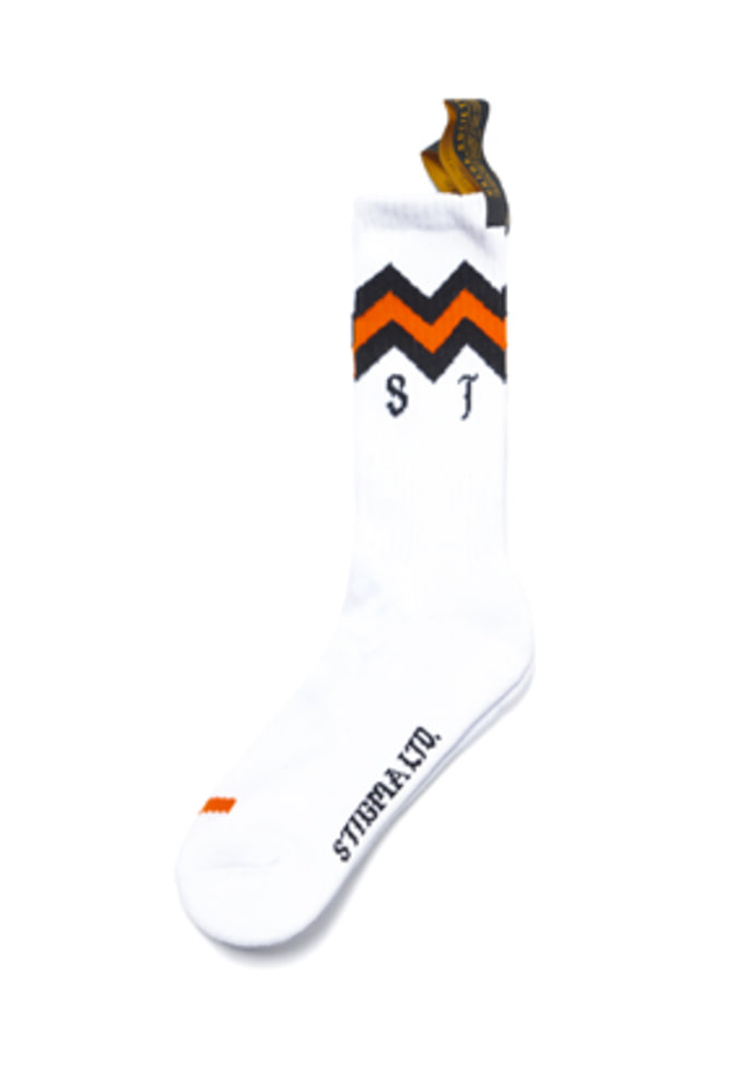 Stigma스티그마 TROPHY SKATE SOCKS WHITE