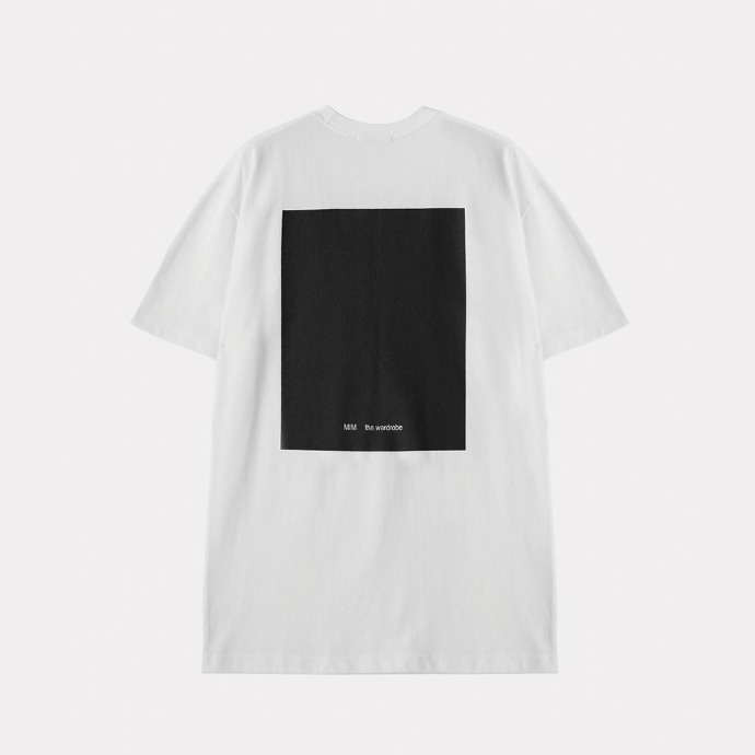 MIM THE WARDROBE밈더워드로브 THE WARDROBE Signature T-Shirt_White
