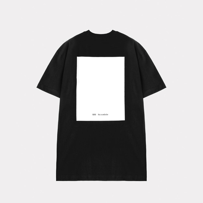MIM THE WARDROBE밈더워드로브 THE WARDROBE Signature T-Shirt_Black